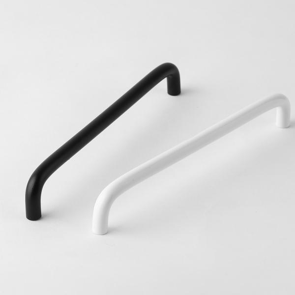 베이직 슬림 가구손잡이-블랙(192mm)