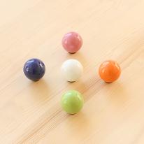 방울 세라믹 손잡이 (5color)