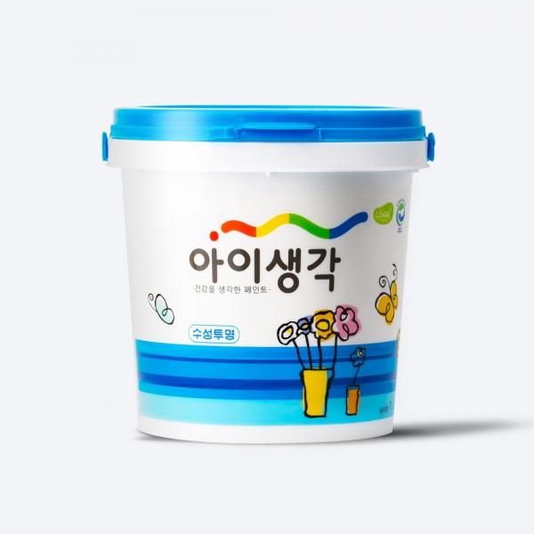 아이생각 친환경코팅제 -수성투명 바니쉬[저광]