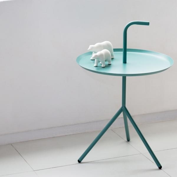 [최저가] 인더프레임 원형 사이드테이블 (5color)