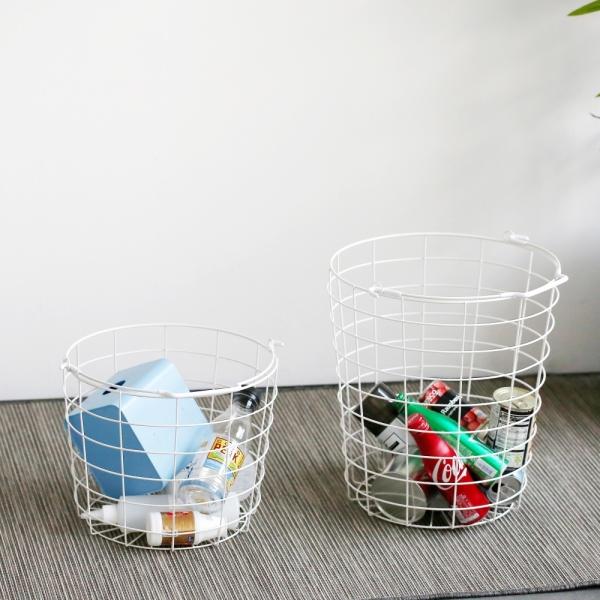 [최저가+무료배송] 인더프레임 스틸 빨래보관함-3단 햄퍼(화이트)