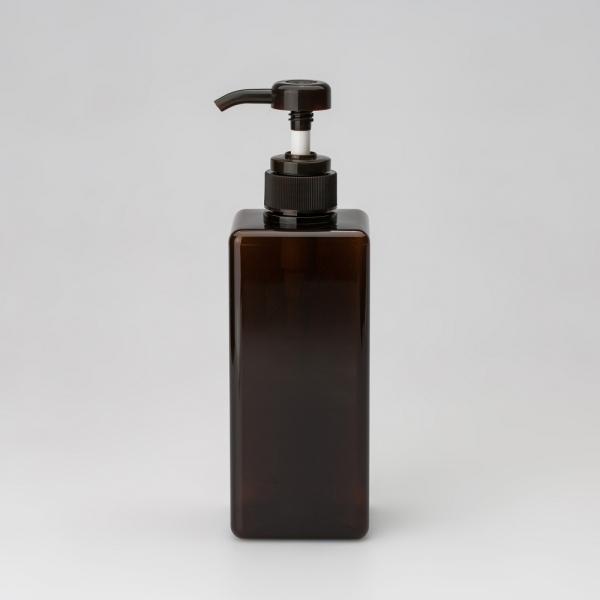 더 심플 베이직 사각 펌프용기 650ml (3color)