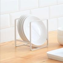 심플 철제 접시정리대 2color