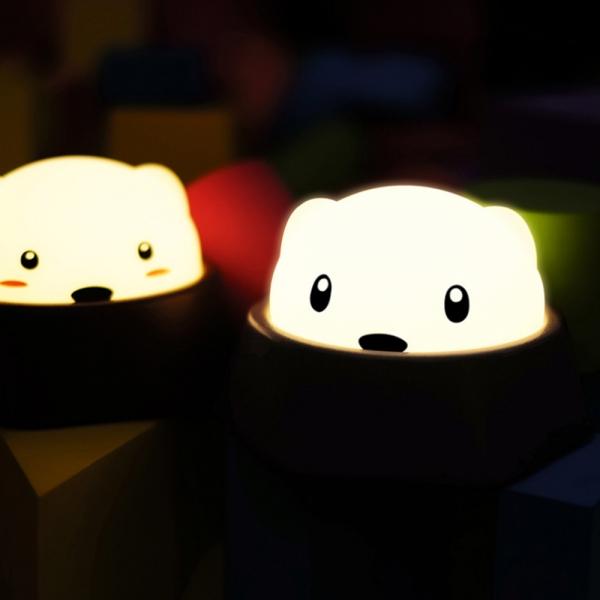 LED 두더지 무드등/수유등