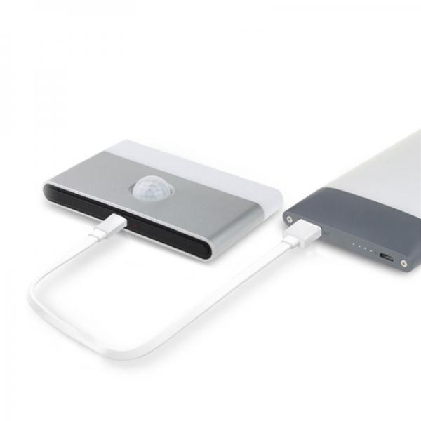 USB 충전 인체 감지 센서등 (부착형) 2color