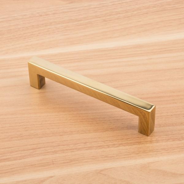 사각 골드 가구손잡이 (128mm)