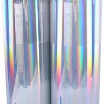 홀로그램시트지 ( IT-P522 ) 민무늬실버 / 시선집중효과,라벨,광고,스티커제작