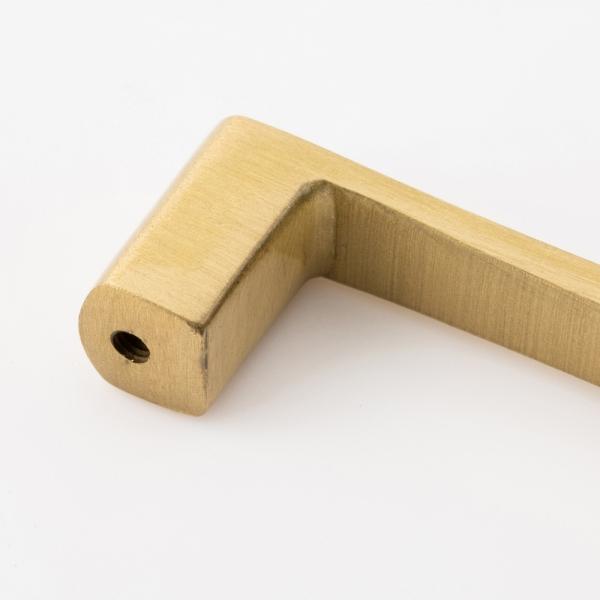 플랫 황동 가구손잡이(96mm)