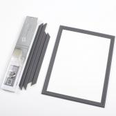 웨인스코팅 -  1박스 2세트(다크그레이D)  PS환경 친화적제품