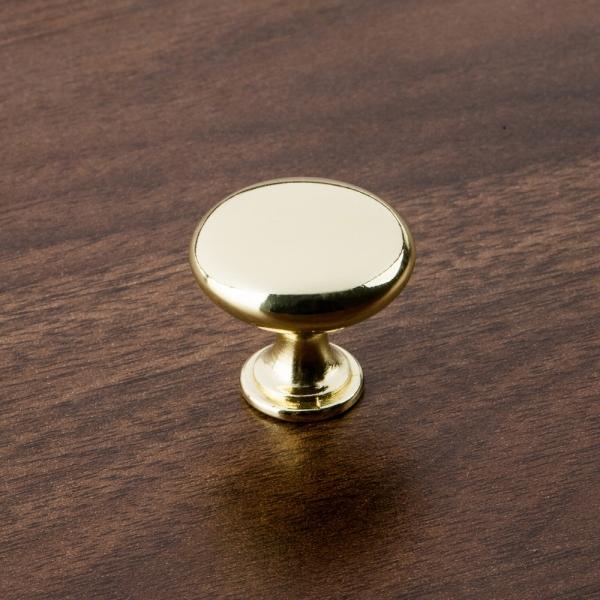 버튼 가구손잡이 - 유광골드