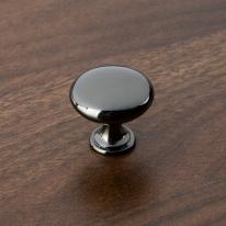 버튼 가구손잡이 - 메탈블랙