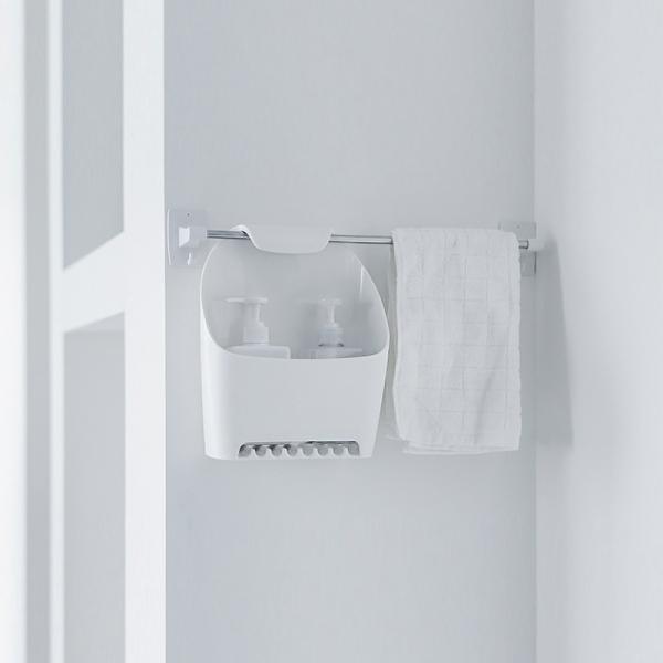 (일본) 욕실 수건걸이 바구니