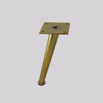가구다리 / 골드 사선원뿔 (200mm)