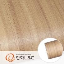 한화인테리어필름 - PZ001 프리미엄우드 티크 무늬목시트지 / 가구 · 테이블 · 방문