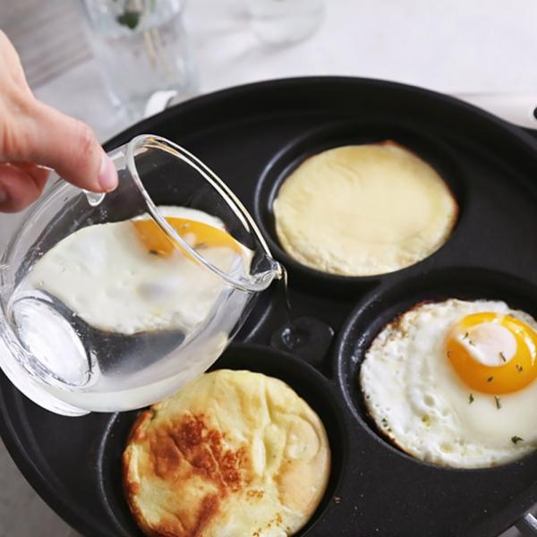 실버스타 4구 스팀 계란후라이팬 (26cm)