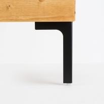 가구다리 / 블랙 Y-180