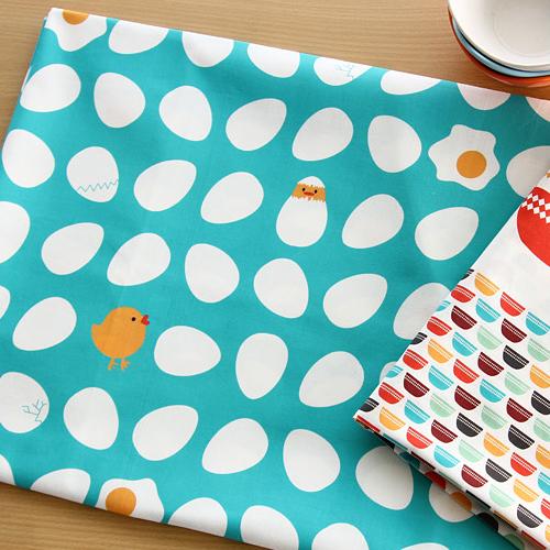 Ne 1마 달걀] Enjoyable Kitchen_Broke the egg pattern cotton