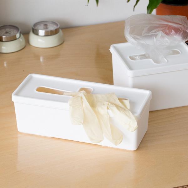 크로스 비닐봉지정리함/수납함