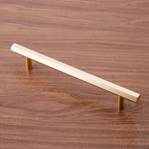 육각 로즈골드 가구손잡이(160mm)