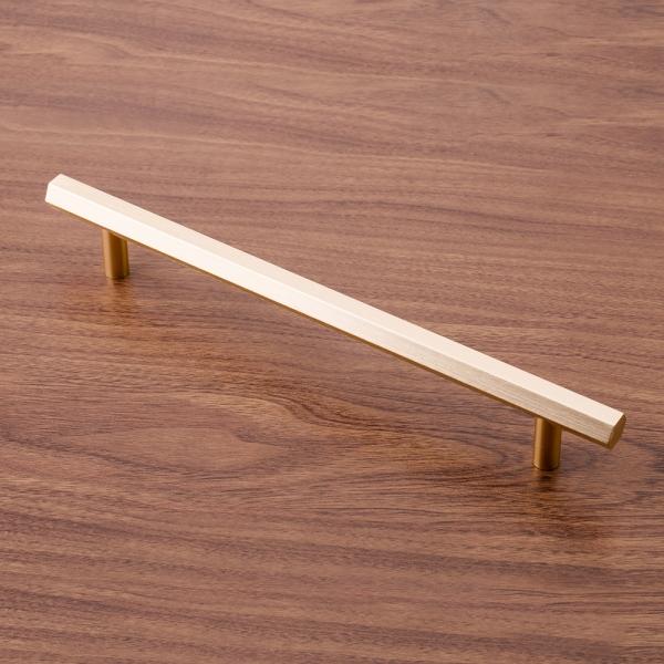 육각 로즈골드 가구손잡이(192mm)