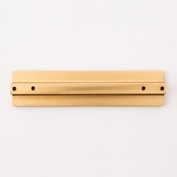 골드 헤어라인 가구손잡이 (96mm)