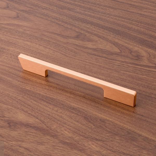 로즈골드 모던 가구손잡이 (128mm)