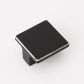 블랙 실버라인 가구손잡이 (16mm)