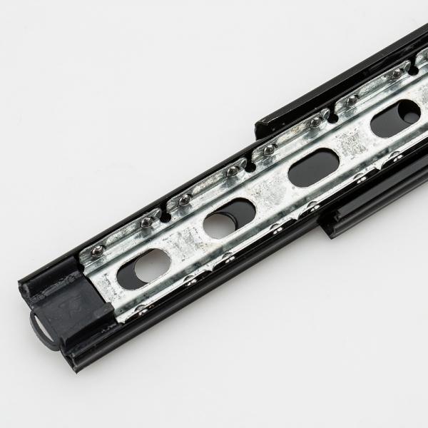 3단 블랙서랍레일 35x350,400mm (2개1조)