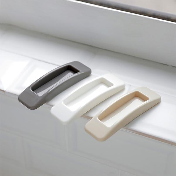 접착식 손잡이 2P세트 (4color)