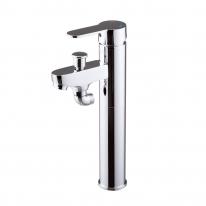 [국내생산, A/S보장] 로보틱스 원홀 샤워&세면기 수전세트 KLOT6120 (탑볼형)