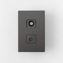LUX 럭스 모듈러 CATV2방+8P (다크그레이)
