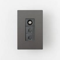 LUX 럭스 모듈러 CATV2방+8P+8P (다크그레이)