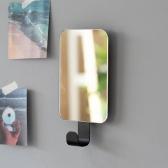 모더미 스퀘어 미니 후크 거울 (2color)