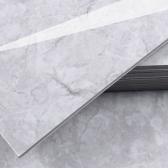 3T 스티커형 접착식 데코타일(TL-06) 유광 대리석 마블그레이 - 1BOX-12장