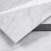 3T 스티커형 접착식 데코타일(TL-07) 유광 대리석 마블화이트 - 1BOX-12장