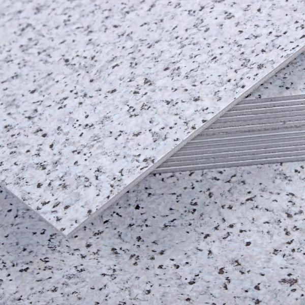 3T 스티커형 접착식 데코타일(TL-11) 무광 그래니트그레이 엠보스 - 1BOX-12장