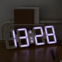 모던 LED 디지털 벽시계
