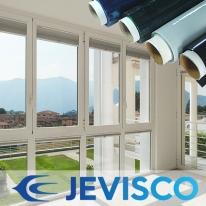 제비스코 열(자외선)차단필름 블루 5m