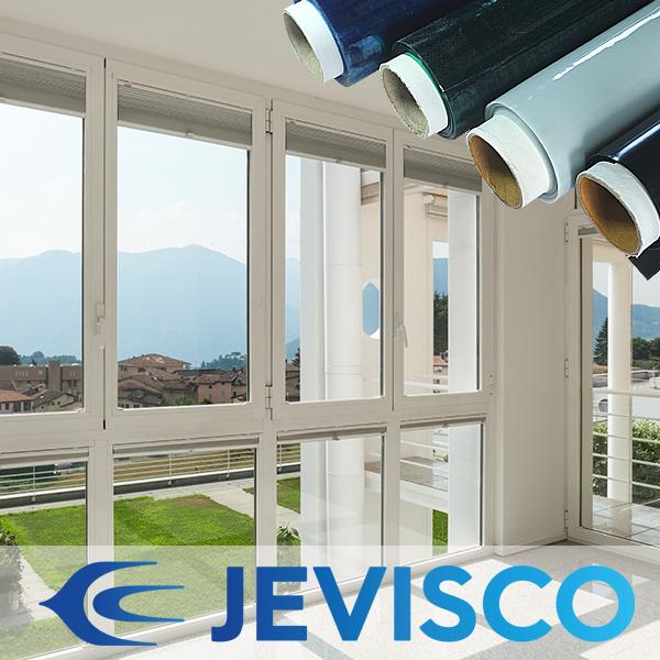 제비스코 열차단필름 창문시트지 햇빛 자외선차단 블루 10m