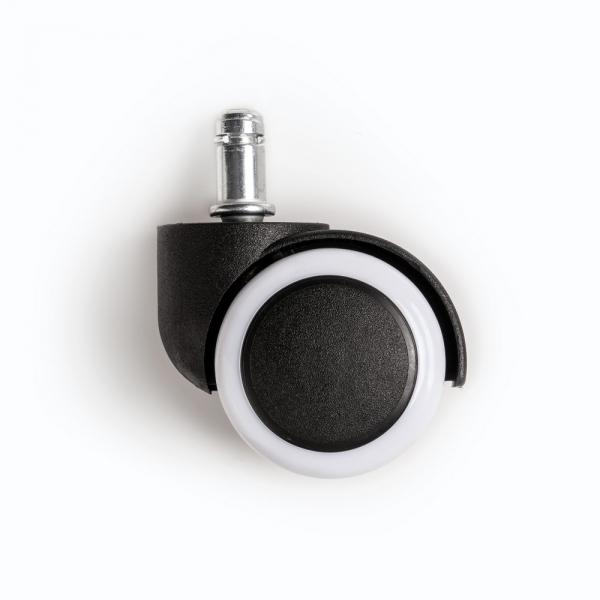 저소음 우레탄 의자바퀴 2color(5개세트)