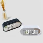 거울 알람 LED 시계 탁상시계 온도계 LLC-P02 직각