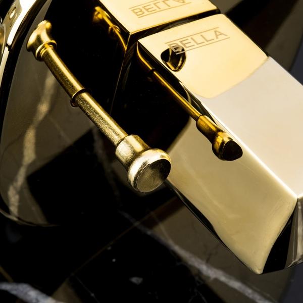 [3+1 이벤트] 프리미엄 방문손잡이 벨라 BL0302 - 티타늄골드