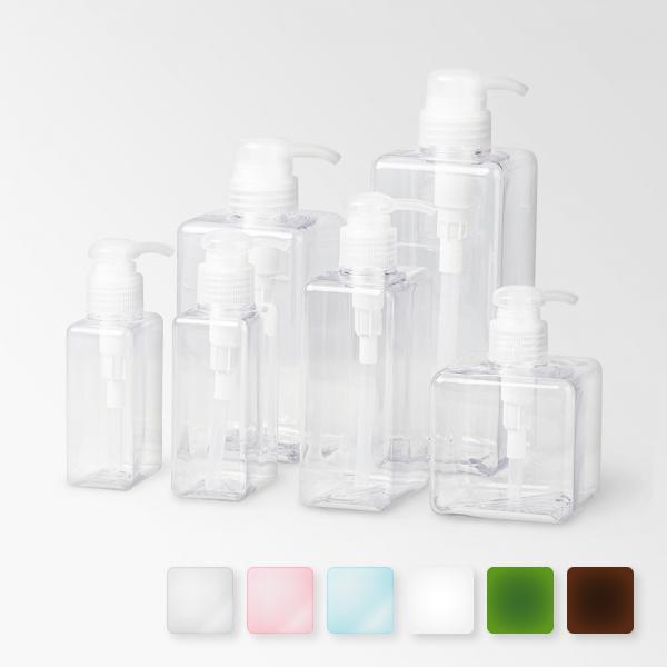 더 심플 클래식 사각 펌프 용기 (6size/6color)
