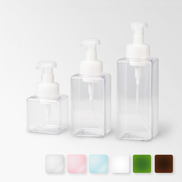 더 심플 클래식 사각 거품 용기 (3size/6color)