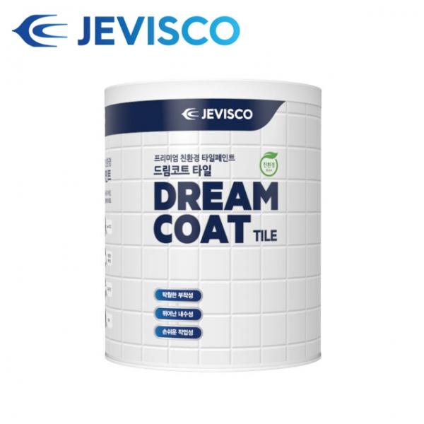 [무료배송][사은품]제비스코 드림코트 타일페인트 경화제 필요없는 1액형
