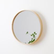 우드미 원목 원형거울 (3color/4size)
