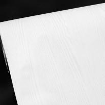 현대 페인티드우드/무늬목시트지/칼라 무늬목시트 - 화이트(HPW-22701)