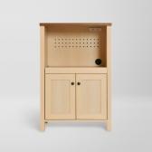 [사토가구] 프렌치컨트리 오픈 키친수납장