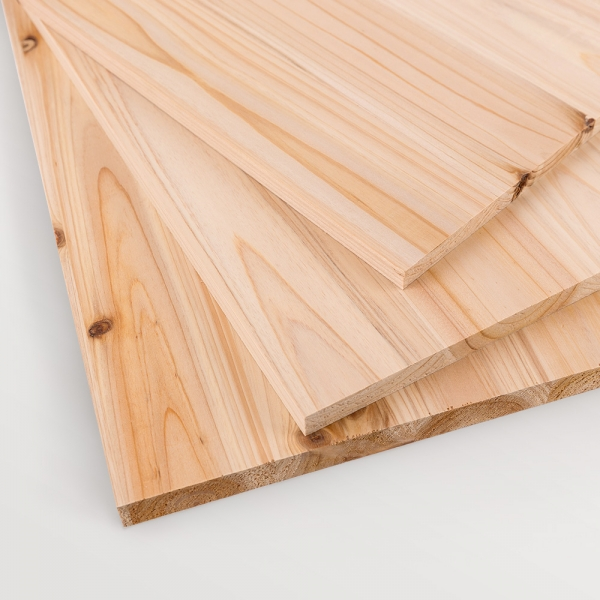 [규격판재] 삼나무 집성목 15T (소형 가구 제작용)