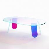 오로라 홀로그램 소파테이블